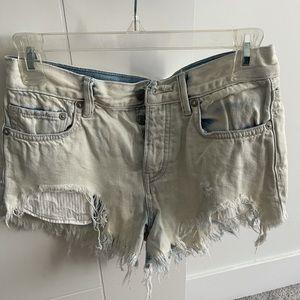 Women's FREE PEOPLE Cut off Jean Shorts